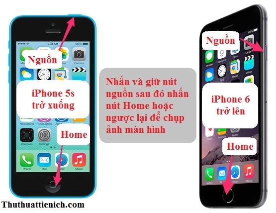 Cách chụp ảnh màn hình trên iPhone