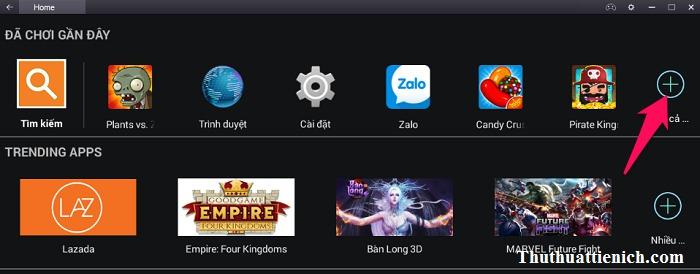 Hoặc bạn cũng tìm thấy game trong phần Tất cả ứng dụng