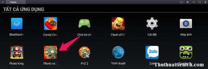 Game Plants vs Zombies trong tất cả ứng dụng