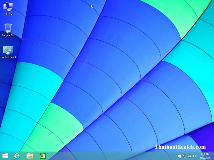 Hạ cấp Windows 10