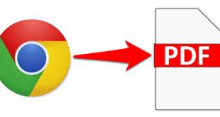 Cách lưu trang web thành file PDF đọc Offline trên Google Chrome