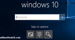 Hướng dẫn cách tạo, thay đổi, xóa mã PIN đăng nhập Windows 10