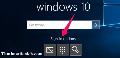 Đăng nhập Windows 10 bằng mã PIN