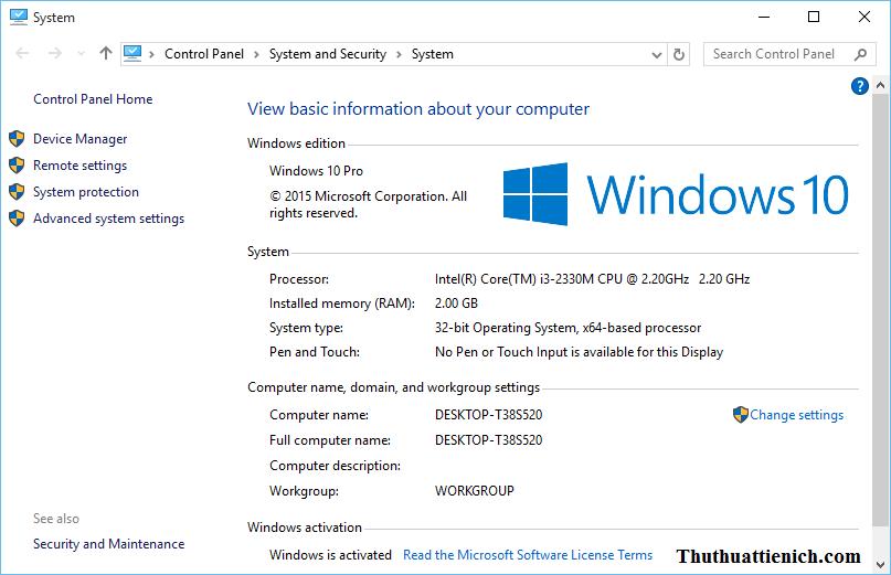 Windows 10 tối ưu & mượt mà hơn