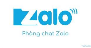 Cách vào phòng Chat (phòng trò chuyện) trong Zalo