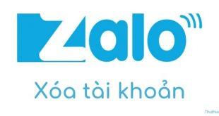 Cách xóa tài khoản Zalo