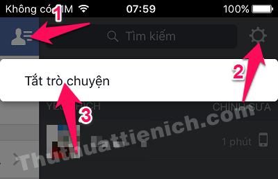 Ẩn nick Facebook trên iPhone/iPad