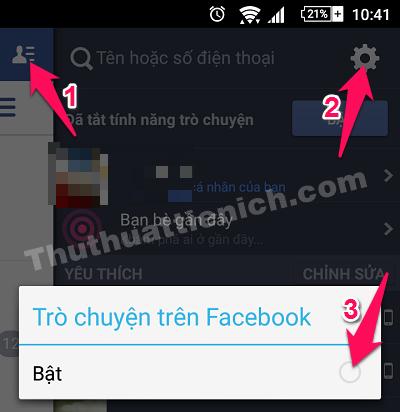 Ẩn nick Facebook trên điện thoại Android