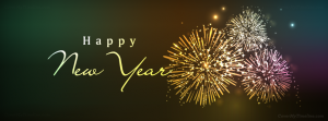 Ảnh bìa Facebook chúc mừng năm mới Happy New Year