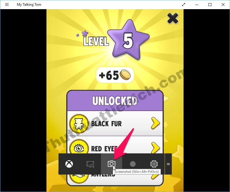 Chụp ảnh màn hình bằng Game bar trong Xbox