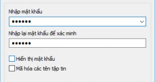 Hướng dẫn cách đặt mật khẩu cho tập tin bằng Winrar & 7-zip