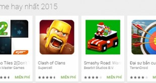 Game hay nhất cho Android 2015