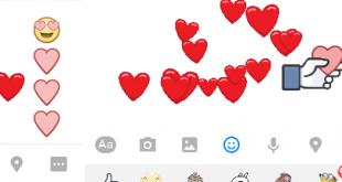 Hiệu ứng khi sử dụng các biểu tượng & sticker tình yêu