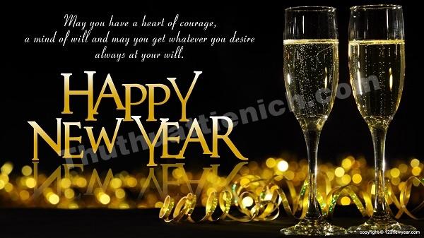 Cùng nhau nâng ly chúc mừng năm mới 2016