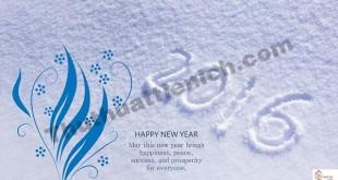 Hình nền máy tính chúc mừng năm mới, Happy New Year 2016