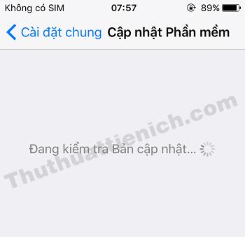 iPhone/iPad sẽ tự động kiểm tra bản cập nhật khả dụng