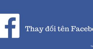 Cách thay đổi tên Facebook nhanh
