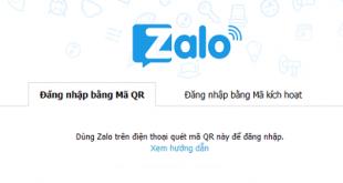 Cách đăng nhập tài khoản Zalo trên máy tính