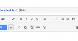 Hướng dẫn cách gửi tập tin, hình ảnh đính kèm qua Gmail