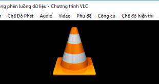 Cách quay video màn hình máy tính bằng phần mềm VLC Media Player