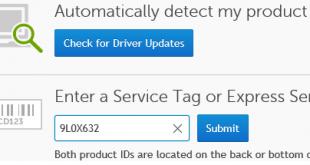 Tải về, cài đặt Driver Laptop/PC Dell