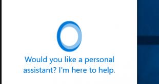 Vì sao không bật được Cortana?