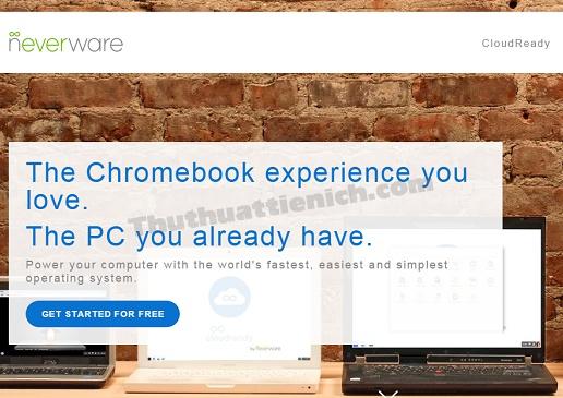 hướng dẫn cài đặt hệ điều hành Chrome OS trên Windows