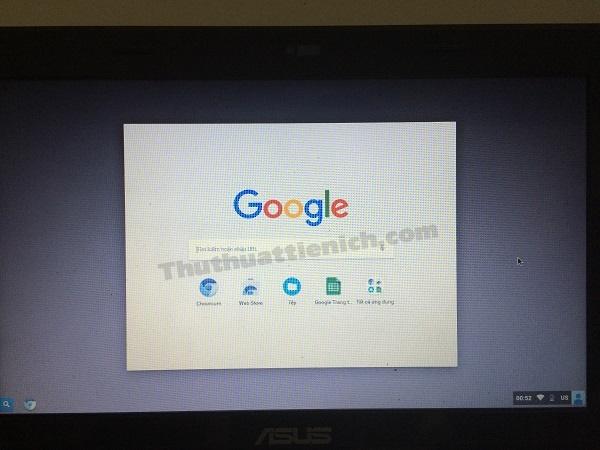 Giao diện Chrome OS