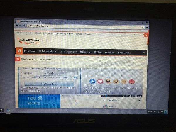 Mọi thao tác trong Chrome OS đều được thực hiện trên nền web