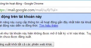 Cách đăng xuất tài khoản Gmail trên máy tính, điện thoại từ xa