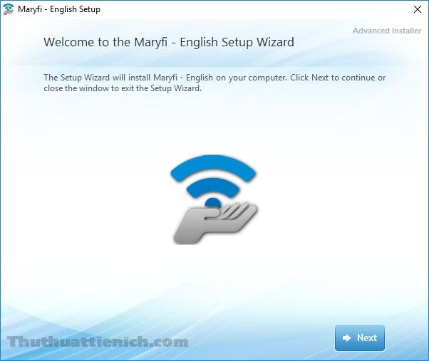 Cài đặt phần mềm Maryfi