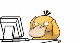 Những ảnh chế hài hước về chú Vịt bối rối Psy Duck