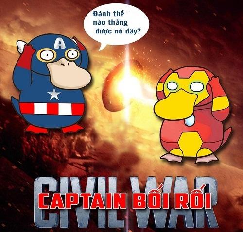 Khi Captain Duck bối rối