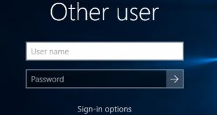 Cách ẩn thông tin cá nhân trên màn hình đăng nhập Windows 10