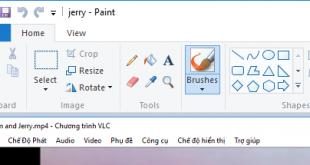 Cắt ảnh trên máy tính đơn giản với công cụ Paint