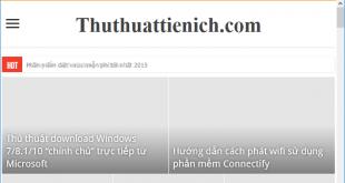 Chặn hiển thị hình ảnh khi duyệt web với Google Chrome & Mozilla Firefox