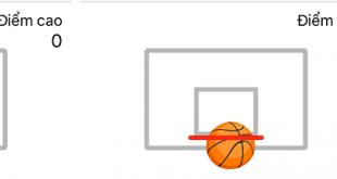 Chơi bóng rổ với bạn bè ngay trong ứng dụng Facebook Messenger