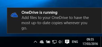 Thông báo trên Windows 10