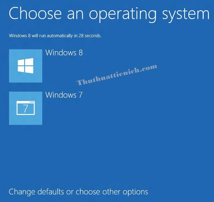 Chọn đăng nhập bằng Windows 7 hoặc Windows 8/8.1