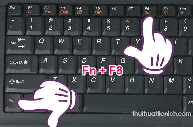 Tắt Touchpad nhanh bằng phím tắt