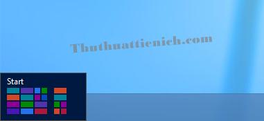 Nhấn nút Start menu (hoặc nút Windows trên bàn phím)