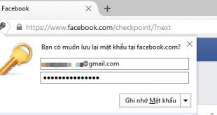 Tạo một mật khẩu chính quản lý mật khẩu đã lưu trên Firefox