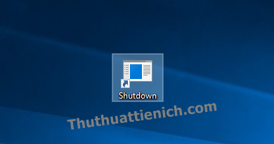Lúc này bạn sẽ thấy shortcut vừa tạo trên màn hình Desktop