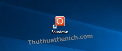 Biểu tượng của Shortcut đã được thay đổi