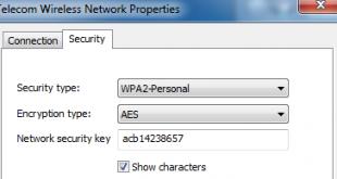 Cách xem mật khẩu của Wifi đã & đang kết nối trên Windows 7