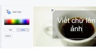 Facebook thêm bộ lọc, viết chữ lên ảnh cho công cụ chỉnh sửa (phiên bản máy tính)
