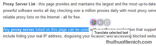 Sau khi bôi đen nhấn vào biểu tượng của S3.Google Translator để dịch