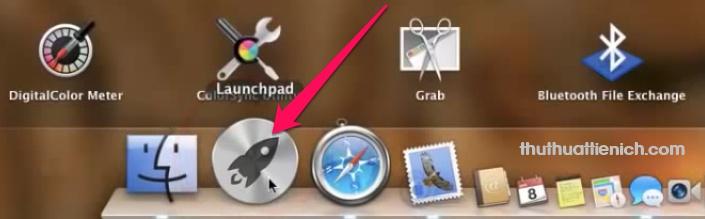 Bạn mở Launchpad
