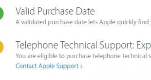 Kiểm tra sản phẩm chính hãng Apple và thời hạn bảo hành