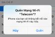 Làm thế nào để Quên mạng Wifi đã kết nối trên iPhone/iPad?